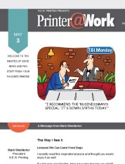 Printer@Work: 7 Tips to Increase Sales With Referrals, Protect Your Facebook Account