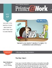 Printer@Work: 11 Tips for Great Infographics, Make Your Design Sparkle